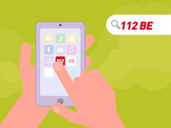 app 112 BE: de app die levens redt