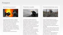 page pompier de notre site
