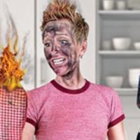 incendie dans une cuisine